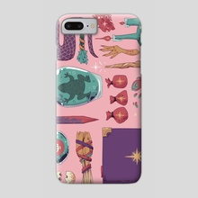 Witch's Cabinet - Phone Case by Flora Kirk
