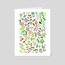 Spring Is Here - Art Card by 83 Oranges