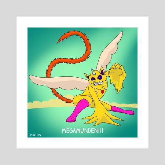 Megamunden by Moonipz