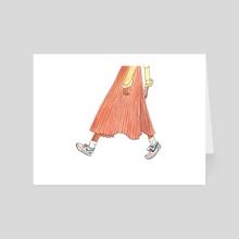 OOTD - Art Card by Nadia Zoe