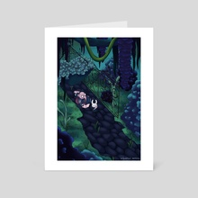 Hollow Knight - Art Card by Nicole Williams
