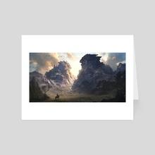 Valley - Art Card by Philip Sue