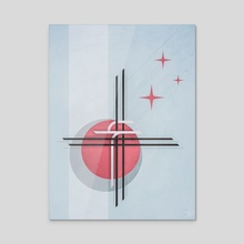 debacle II - Acrylic by drewmadestuff