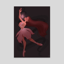 Magical Dancer - Canvas by Megs
