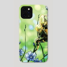 Bumble Bee Dragon - Phone Case by Maegan Cook