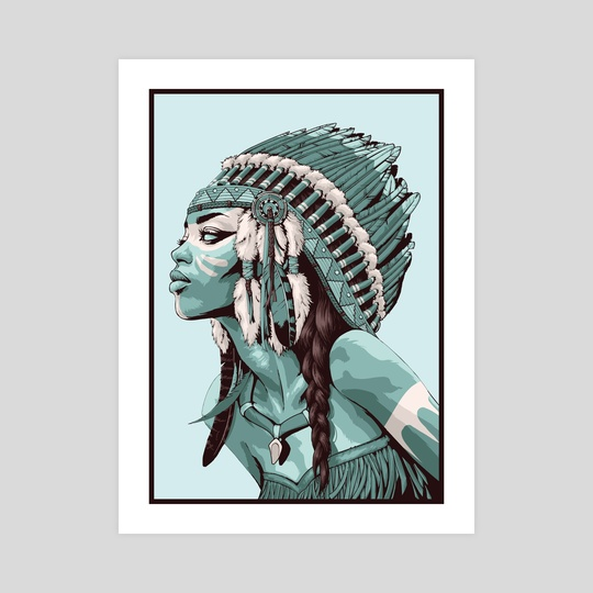 Native American by Non Vale Art