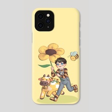 Yellow Friend - Phone Case by Christy Veronica