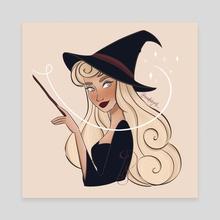 Witch - Canvas by Sofia Gutierrez