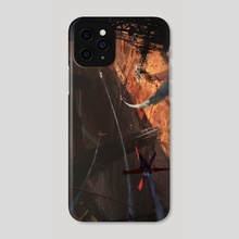 The Valley of Death - Phone Case by Arturo Gutierrez