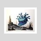 Beholder - Art Print by John Dotegowski