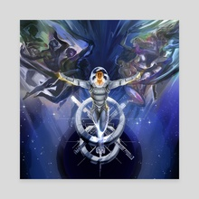 wings of space - Canvas by Jian Guo