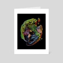 Bent #2 - Art Card by Alan Mariscal