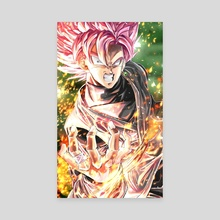 GOKU BLACK - Canvas by Sumutemu