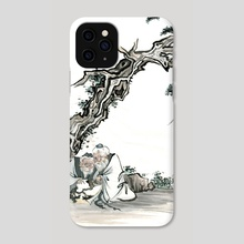 Chinese Figure - 2 - Phone Case by River Han