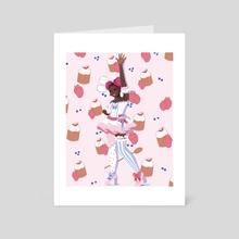 Too Sweet! - Art Card by Hollie Puterbaugh