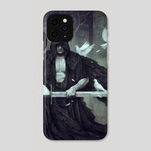 Torturer's Shadow - Phone Case by Dark Crayon