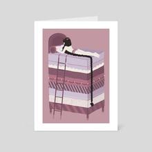 rapunzel - Art Card by Janika Keskitalo // JK ミ★