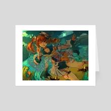 [Genshin Impact] Ready, Steady - Art Card by Jazlyn
