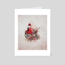 Cardinal (Color) - Art Card by Chris R
