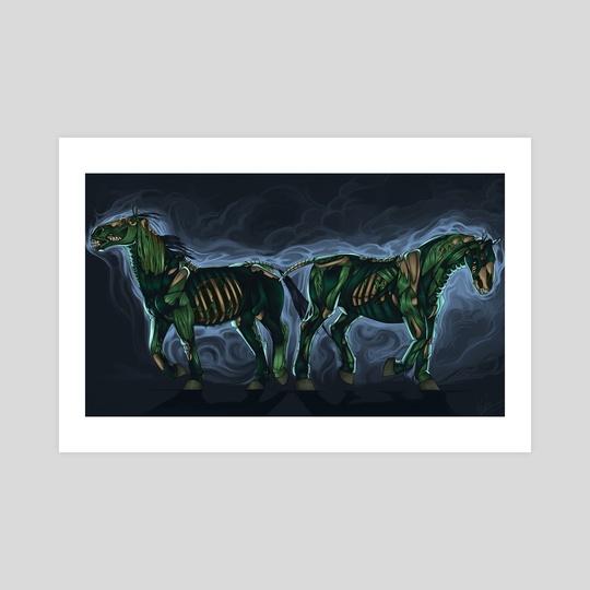 Undead Horses by Beaky