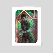 Synthesis - Art Card by Marina Smirnova