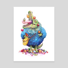 Feast - Canvas by Christina Rycz