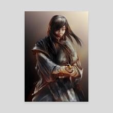 SAMURAI GIRL - Canvas by Puttichart Wanichtat