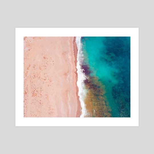 Aerial shot on a beach in Antalya turkey by Mohammad Eid