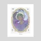 Pisces  - Art Print by kevin mercau