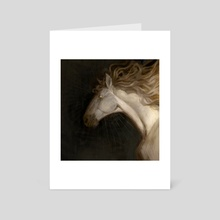 Pale Mare - Art Card by Oriana