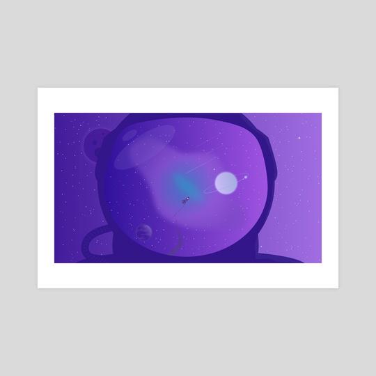 Astronaut by Ley Yanna
