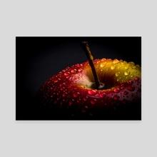 Wet Apple - Canvas by Filip Șerban