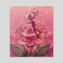 The Little Fairy - Acrylic by Miso