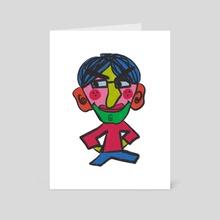 Grumpy Buddy - Art Card by Loveberlyn