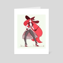 Witchy Business - Art Card by Samael