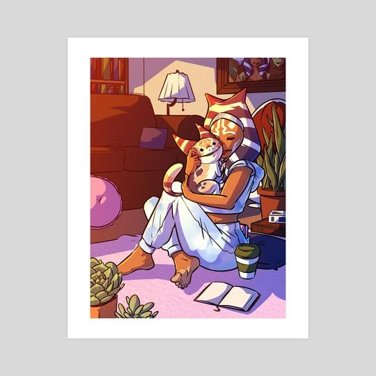 Cozy Ahsoka by Christopher Aaron