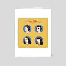 Snow White - Art Card by Alice Negri
