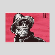 The Invisible Man - Canvas by Michael Calderon
