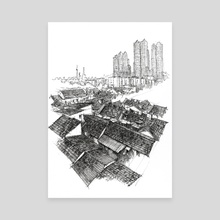History of Modern China - Canvas by Taole Chen