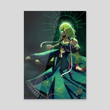 Goddess Byleth  - Acrylic by Glossywooo