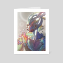 Living Prism - Art Card by Marissa Rivera