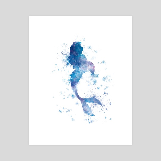 Mermaid by Monn Print