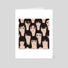 Good Hair Day - Art Card by Jeannie Phan