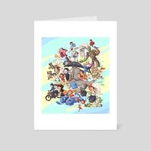 Ghibli Movies Fanart - Art Card by Abigail Tan