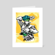 Rohan Kishibe Ink - Art Card by Veneranda Tianero
