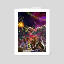 Heroes of the Storm - Art Card by wu licheng