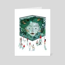 Anxiety 2 - Art Card by Lily Padula