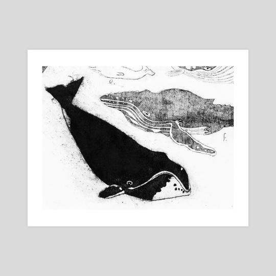 Bowhead whale by Kasper Binzer