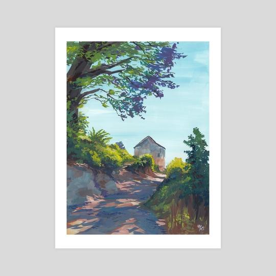 Beachhouse Path by Maddy
