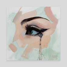 Sentiant Eye - Canvas by Ryan Morse